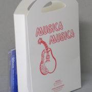Scatolificio Eugubino Astra Musica Musica Borsetta Scatola per CD