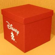 Scatolificio Eugubino Perugia scatola Cordoba Disney Rosso Bordeaux per Panettone Bomboniere Regali Microonda