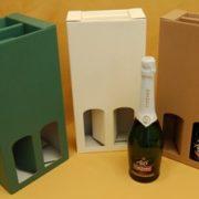 scatola per bottiglie manico scomparsa