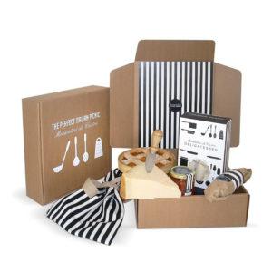 Foto delle scatole per confezioni dello Scatolificio Eugubino - modello Barchetta